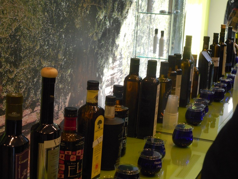 Oils Tasted at Europe 2019 Events